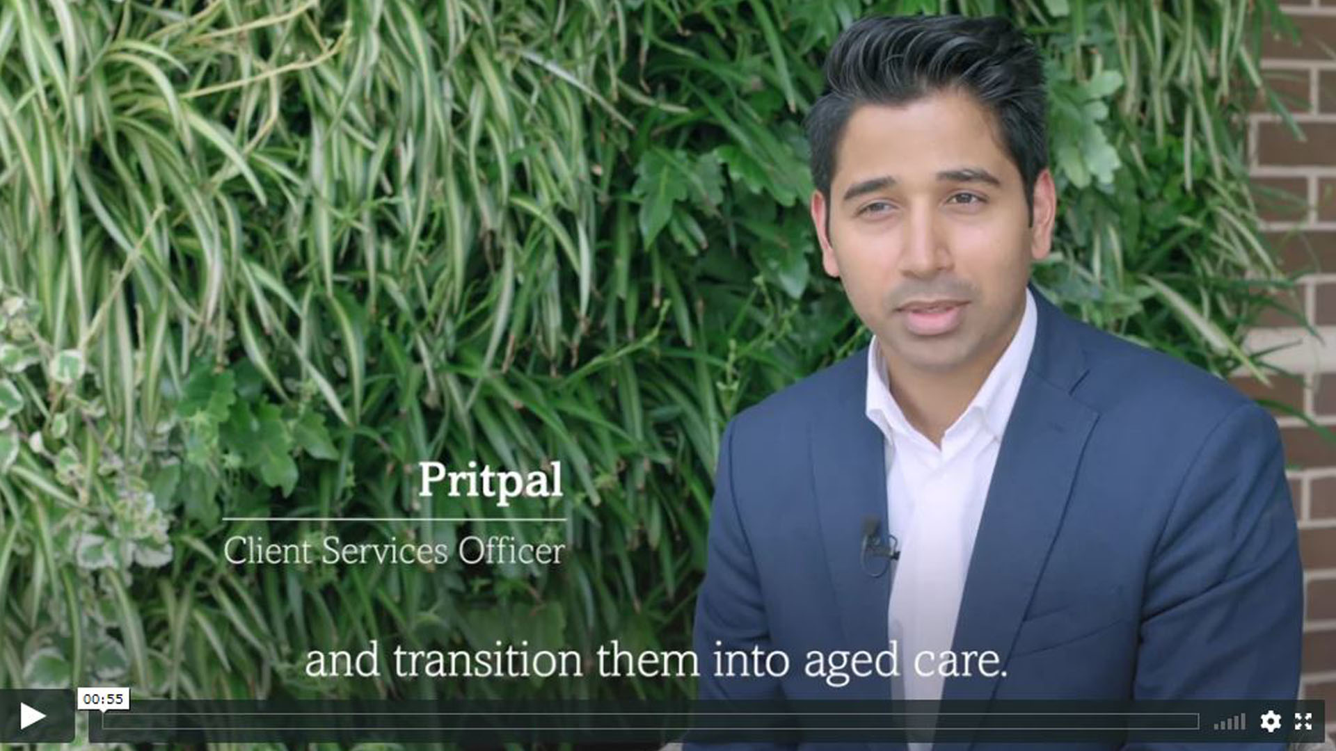 Pritpal Client services officer