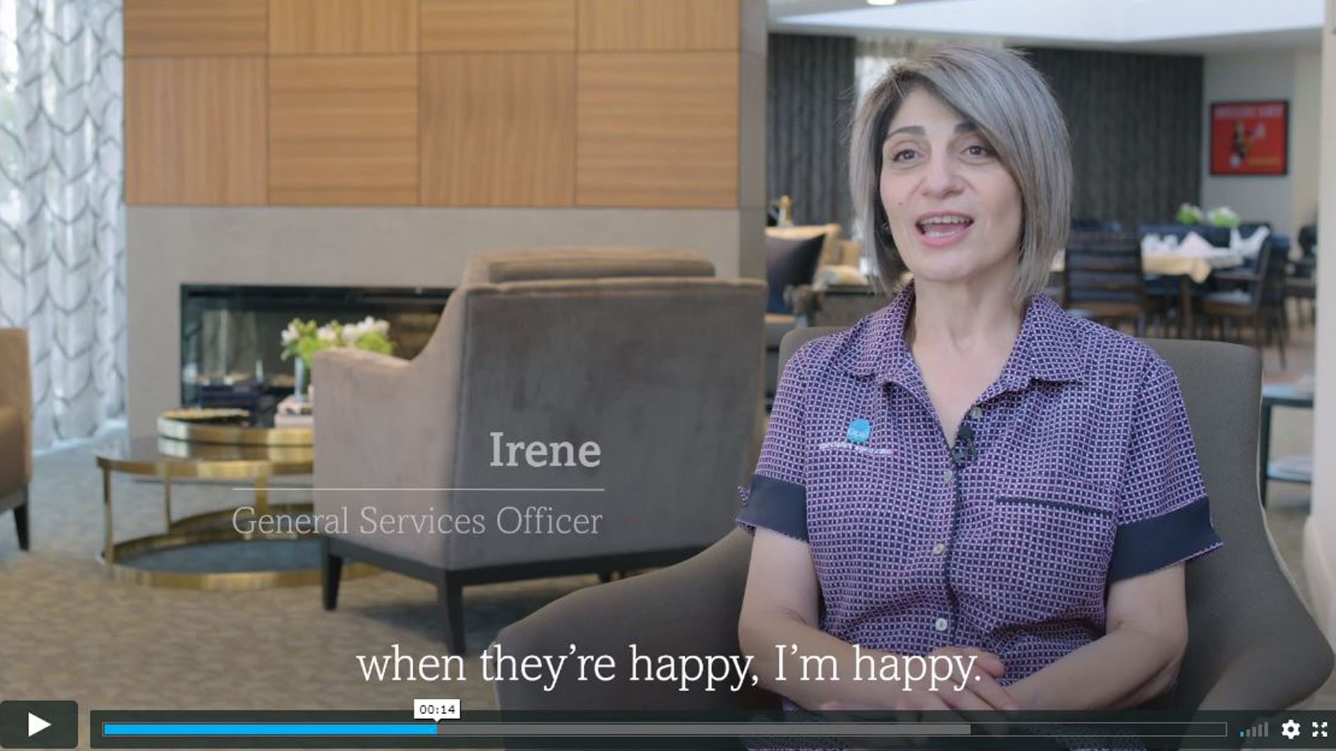 Irene General services officer