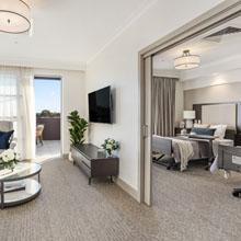 Deluxe companion room