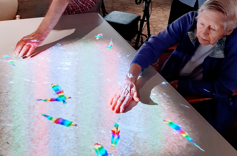 Augmented reality in aged care
