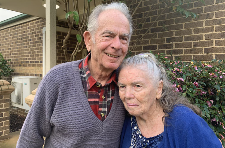 Betty and Harry Opal Bairnsdale
