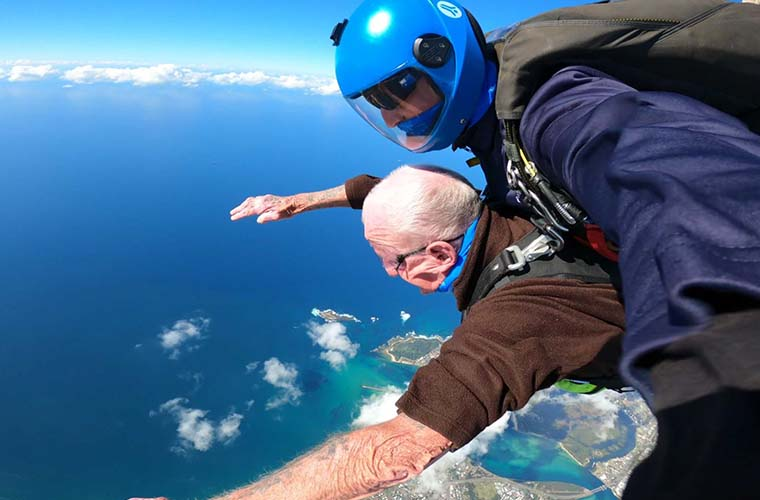 Ray Holley Skydive