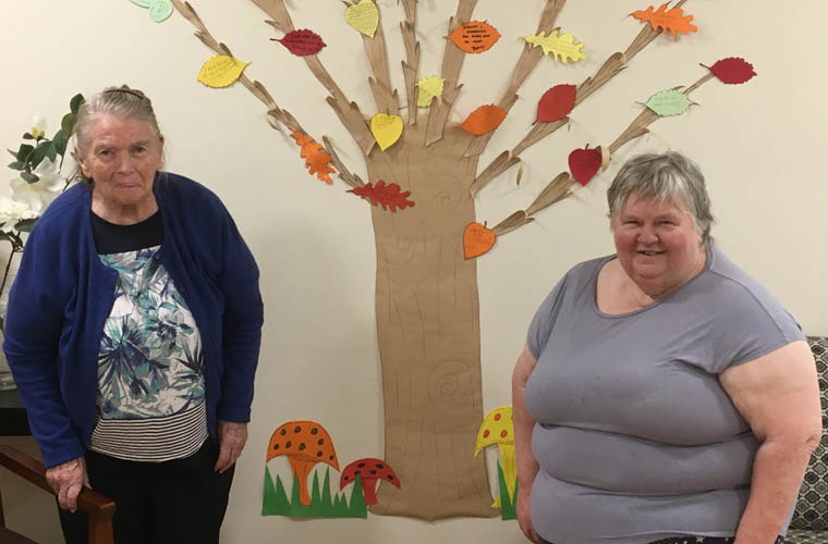 Val and Betty Opal Bairnsdale