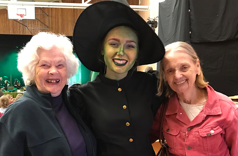 Residents at The Wizard of Oz