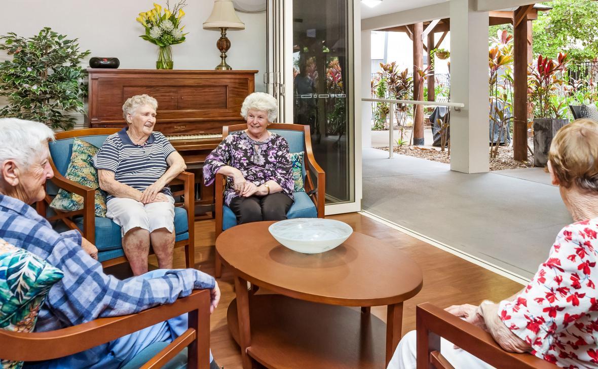 Varsity Views - Residents talking