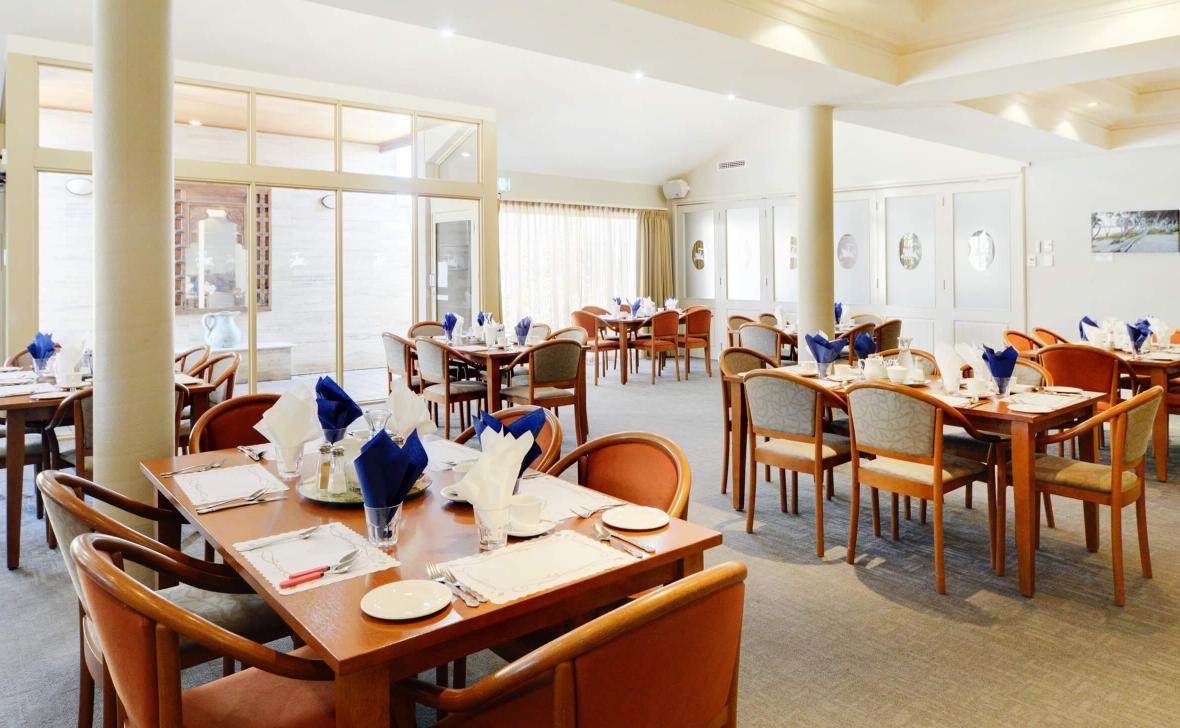 Melville Parkside dining