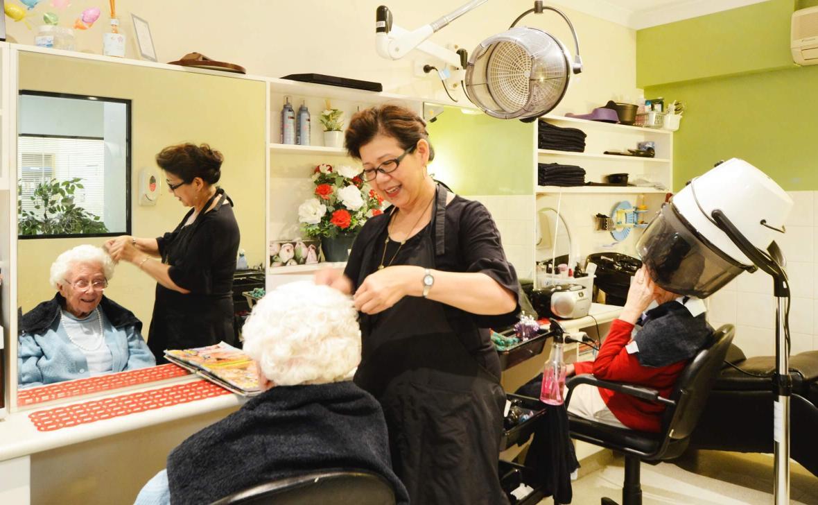Murdoch Gardens hairdresser