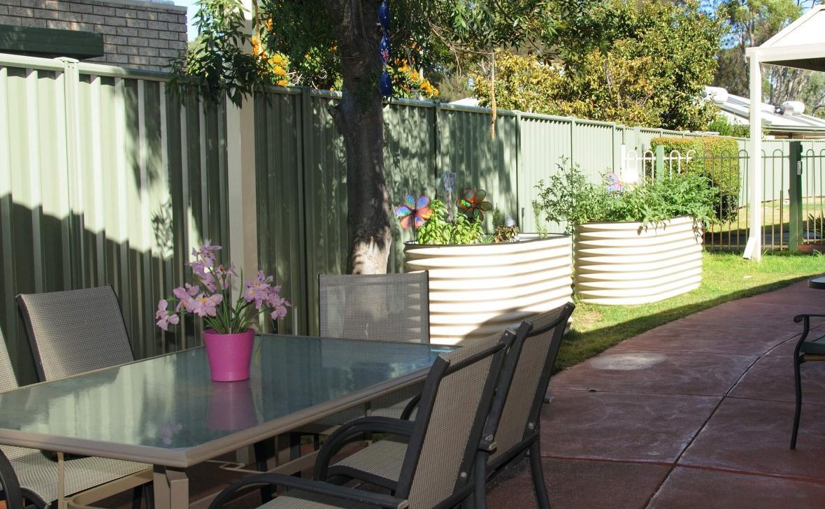 Mandurah Coast outdoor seating area