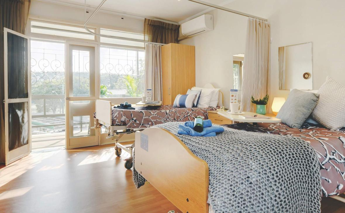 Manly Hillside Bedroom