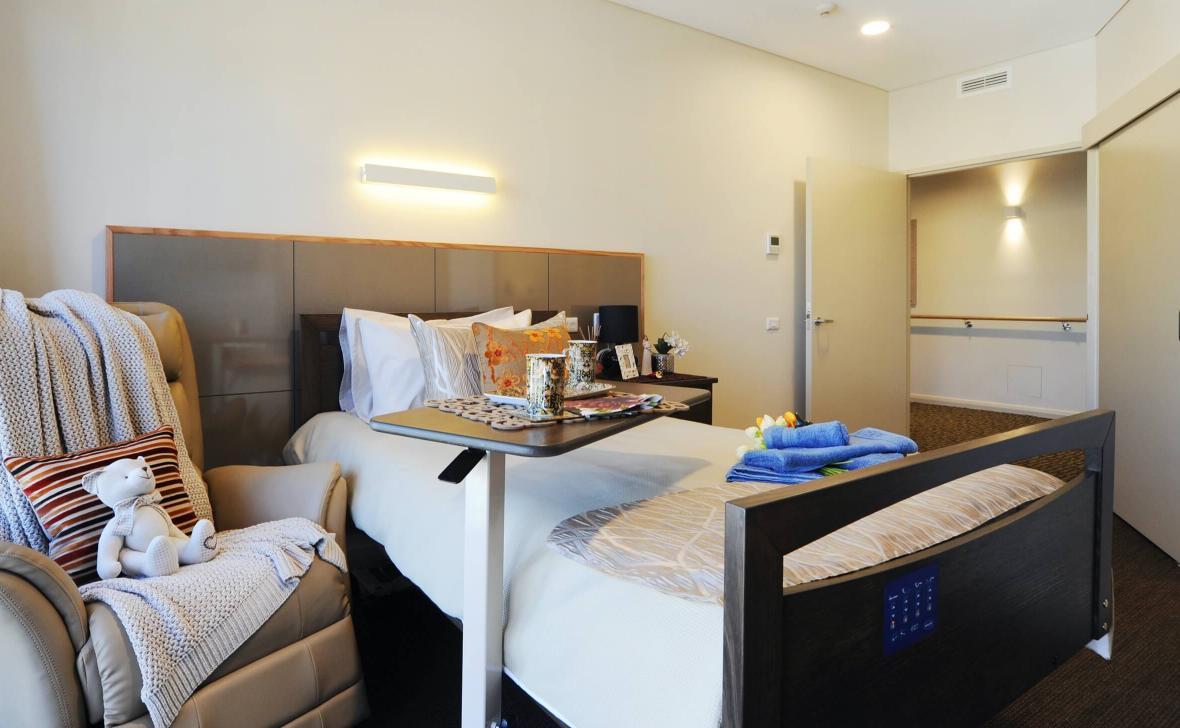 Ashfield Terrace bedroom