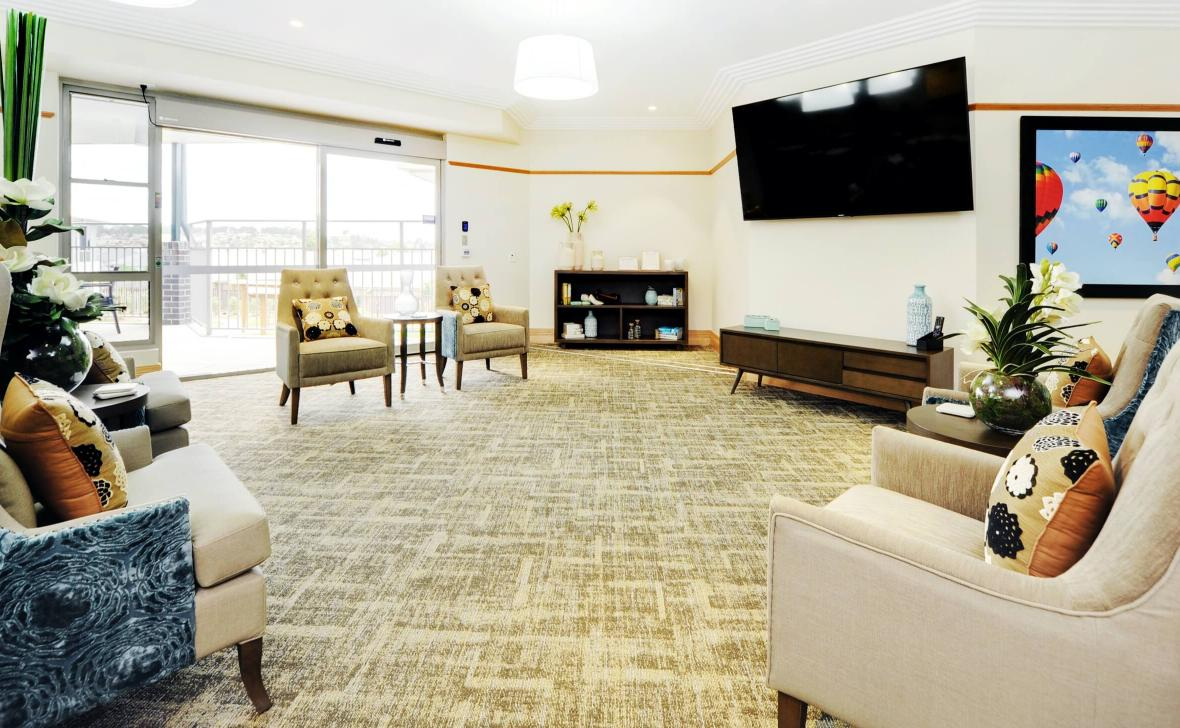 Rutherford Park living room