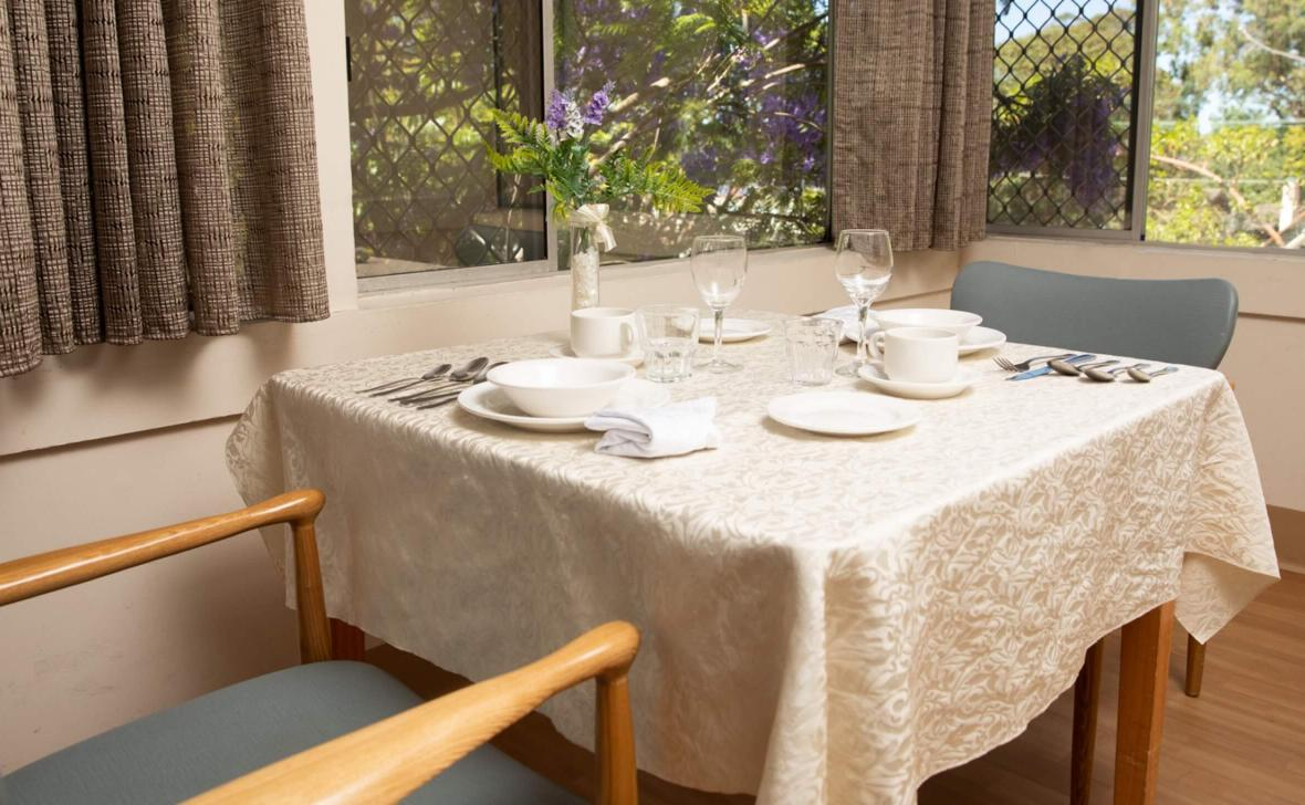 Wahroonga Place dining table