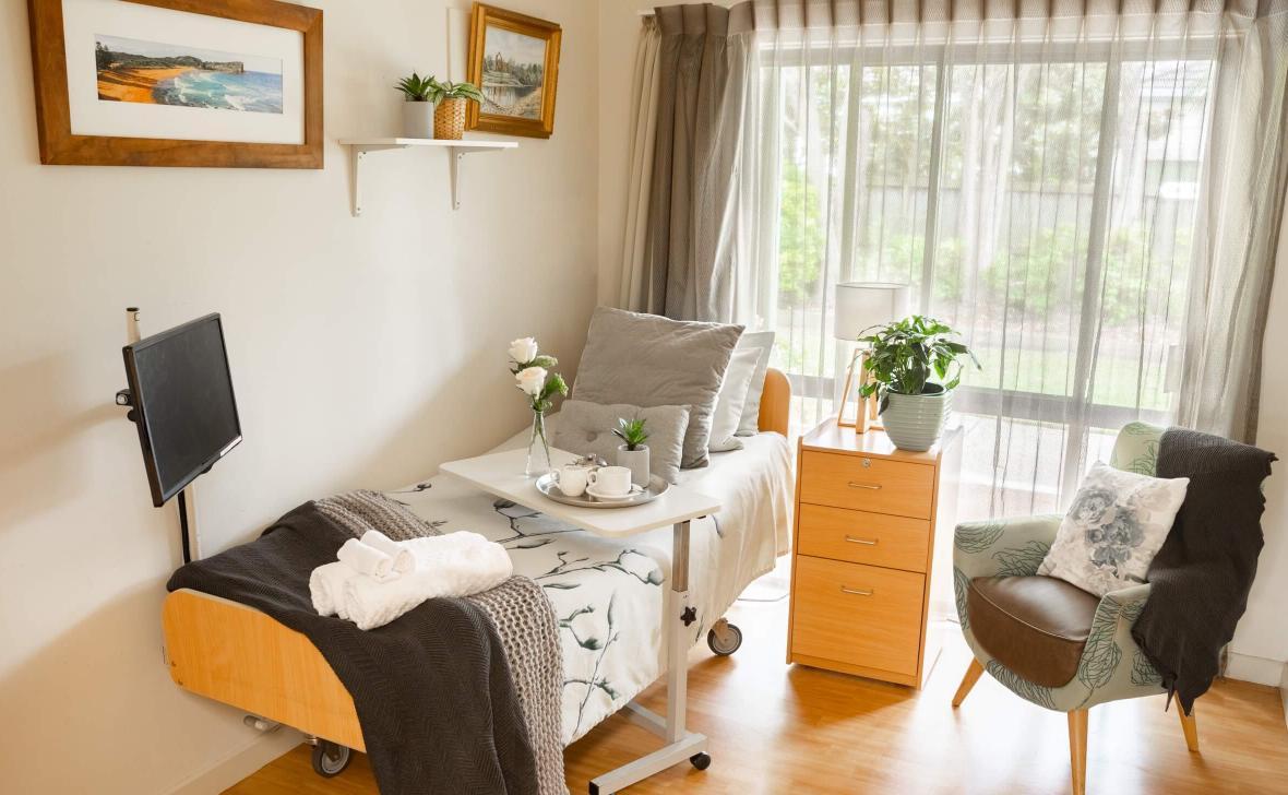 Narrabeen Glades bedroom
