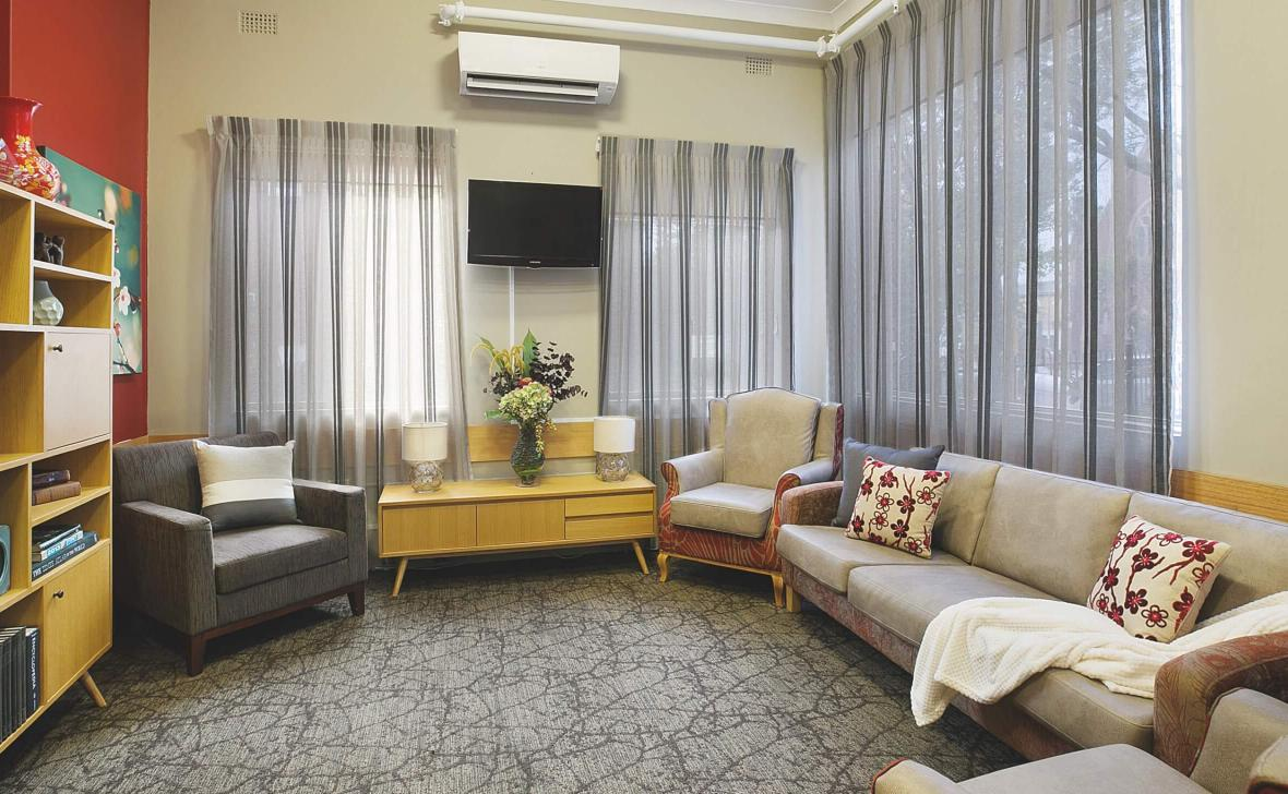 Annandale Grove indoor living room