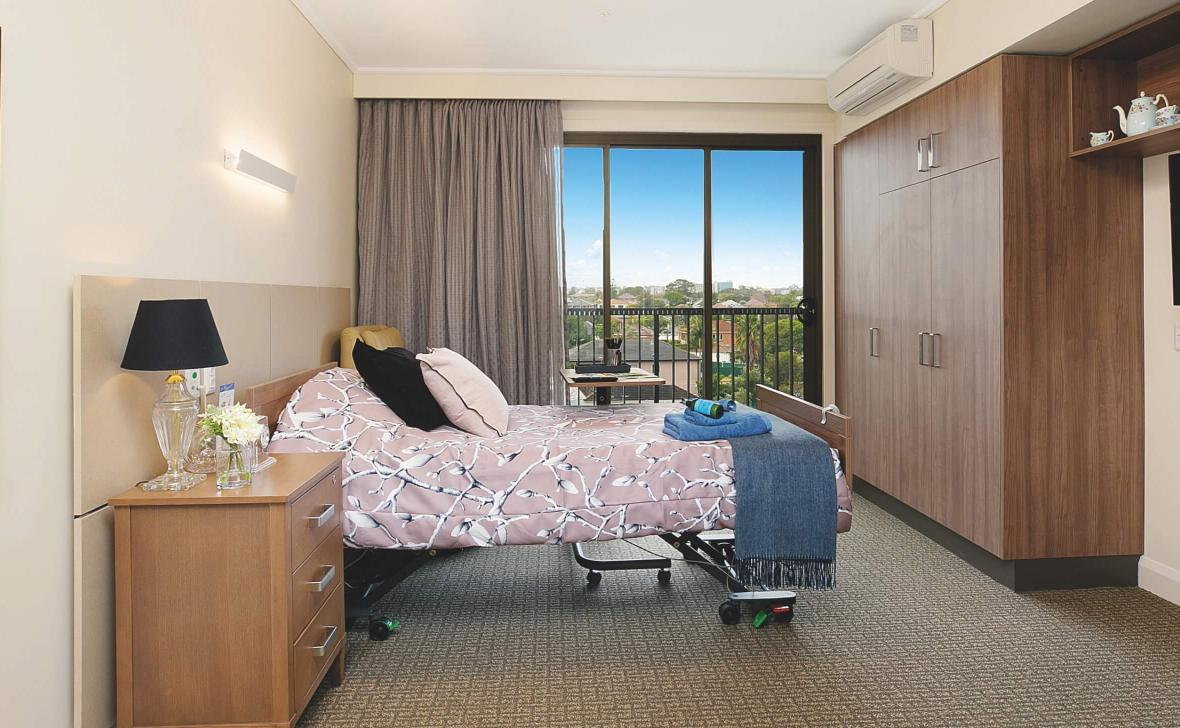 Bankstown Terrace bedroom