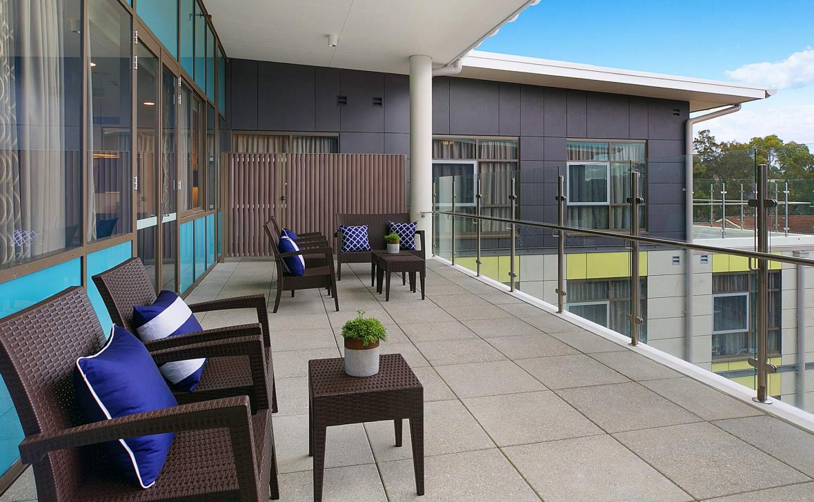 Bankstown Terrace outdoor area