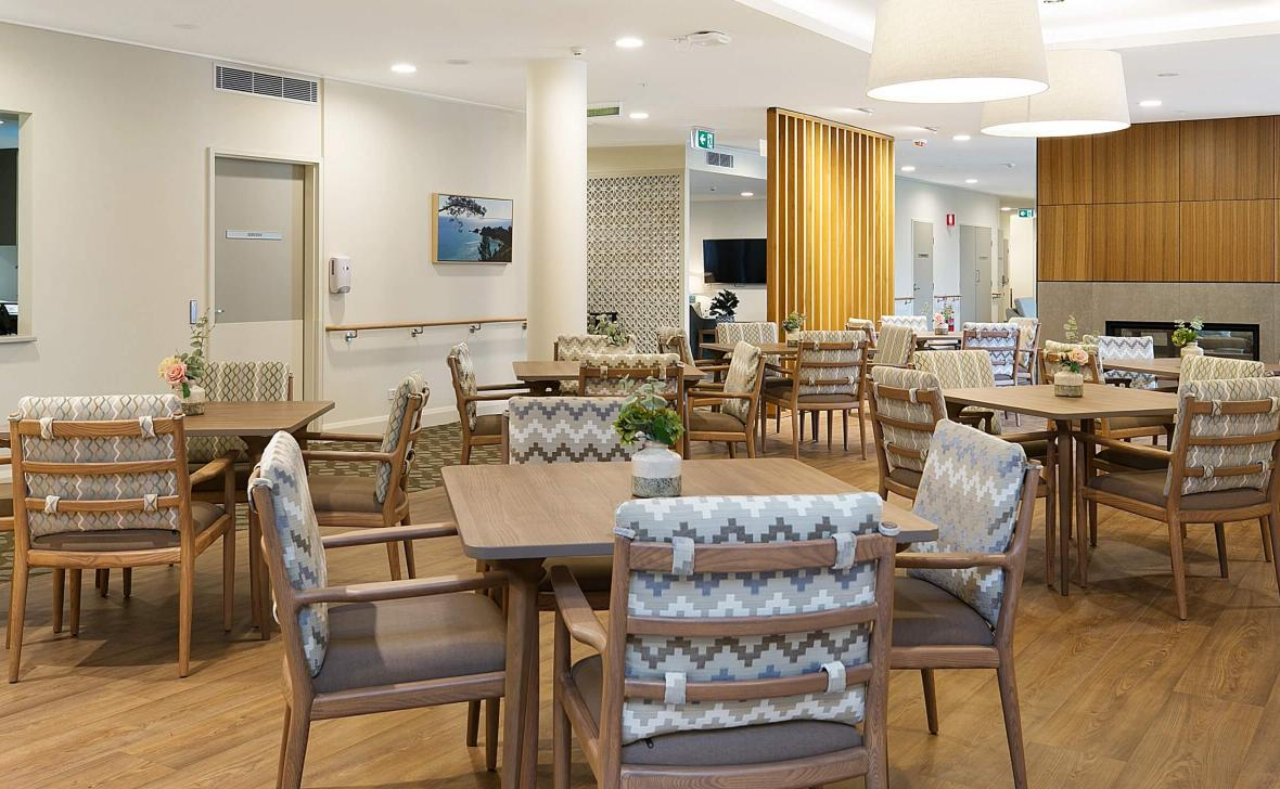 Bankstown Terrace dining area