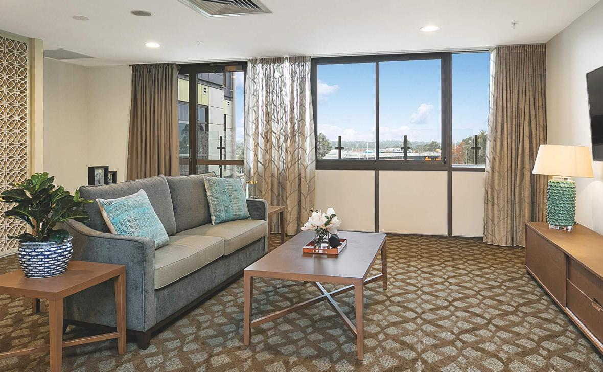 Bankstown Terrace living room
