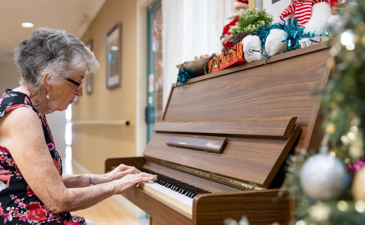 Burpengary Gardens piano
