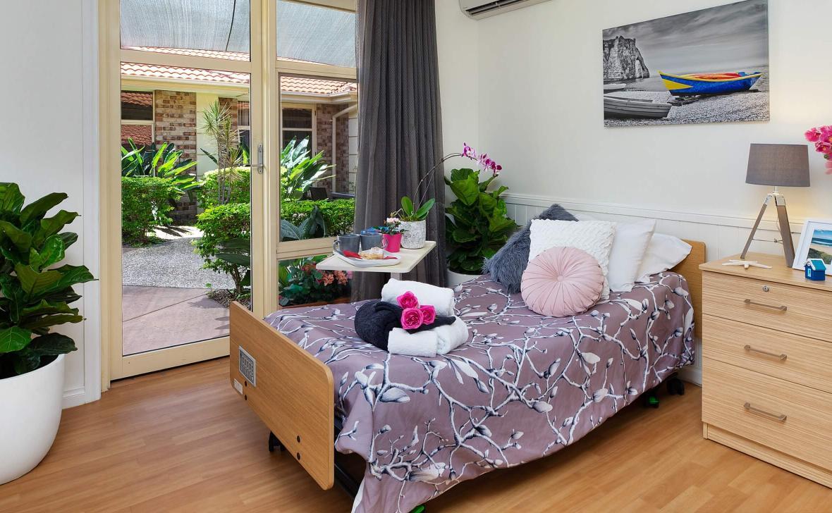 Kirra Beach bedroom