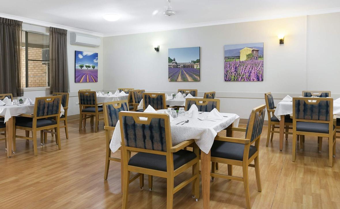 Mudgee Parklands  dining