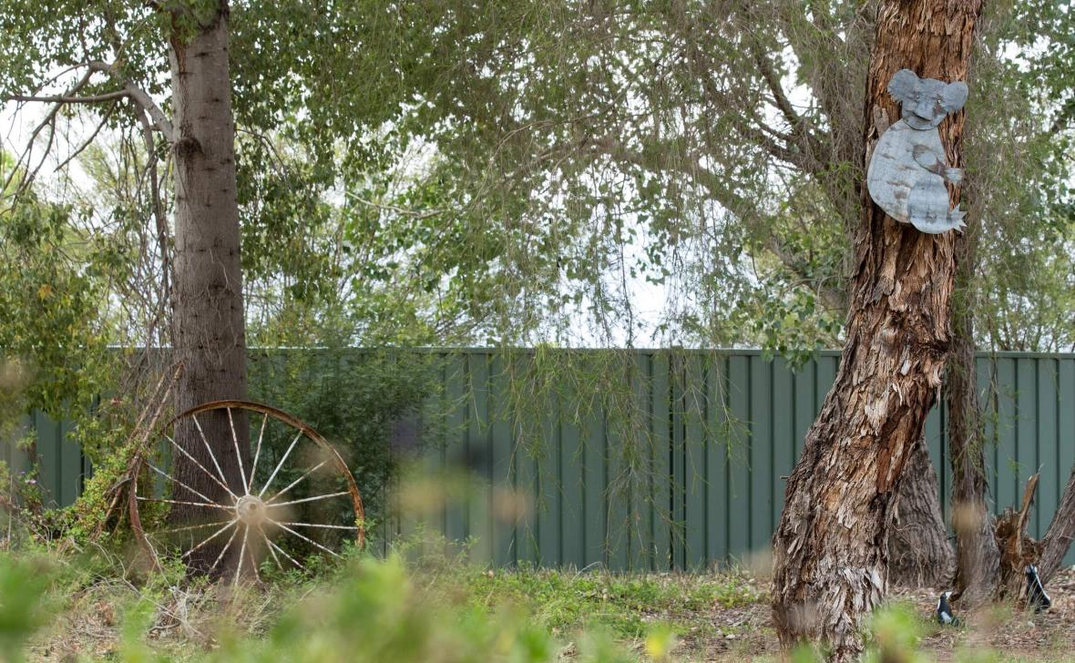 Narrandera Homestead outdoor area