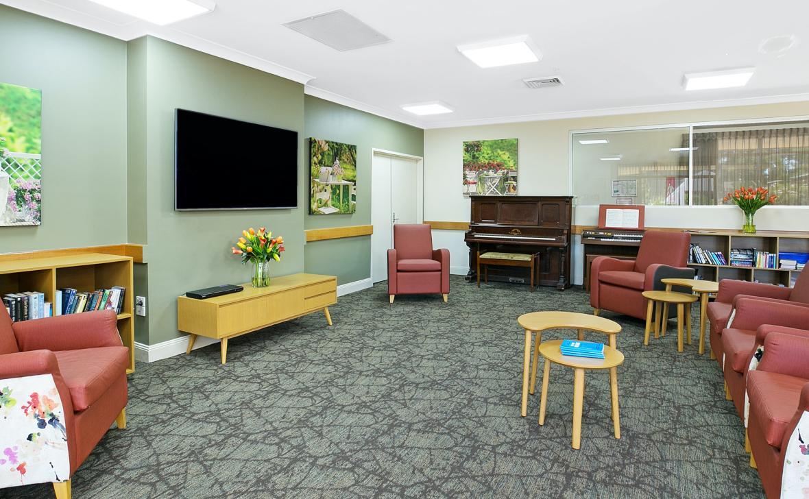 Raymond Terrace living room