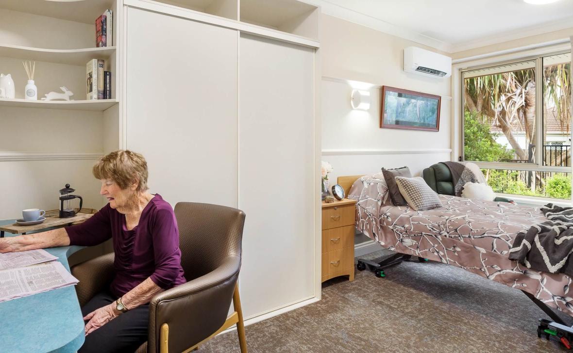 Carseldine Greens bedroom