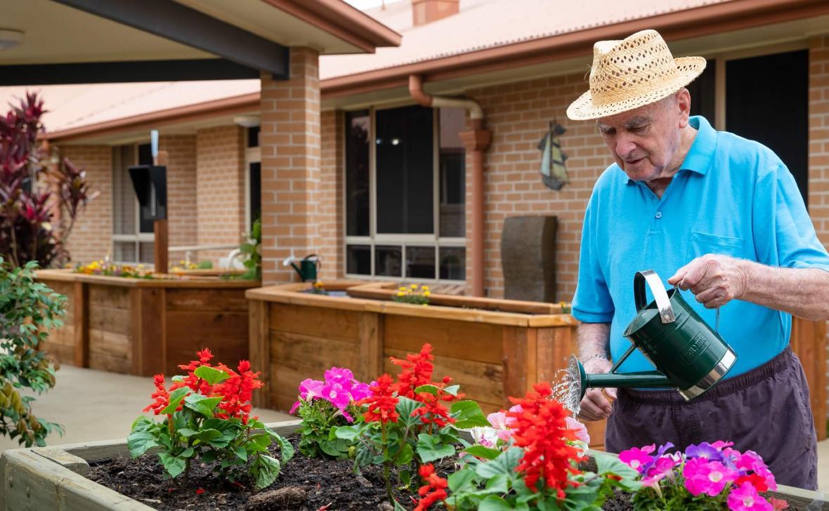 Carseldine Greens gardening
