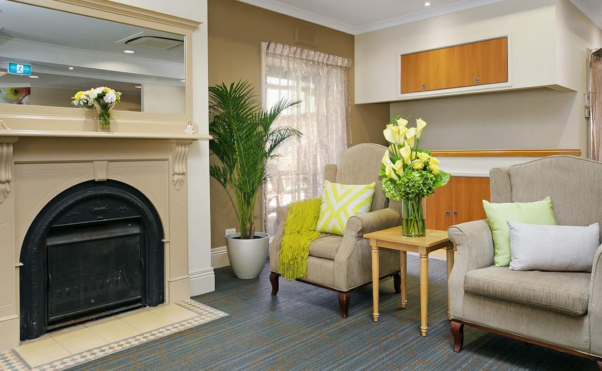 Inverloch Coast living room