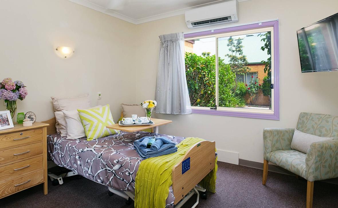 Inverloch Coast bedroom