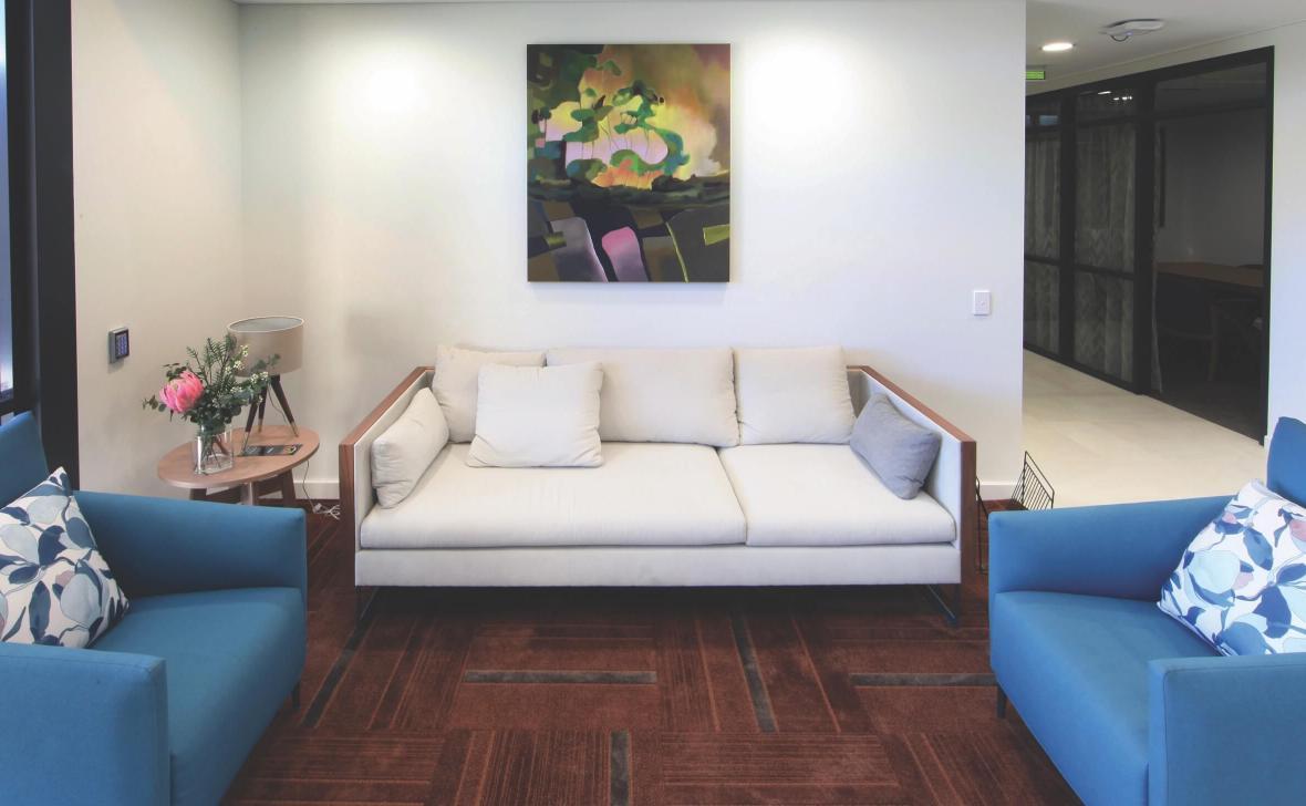 Geraldton Shore living room