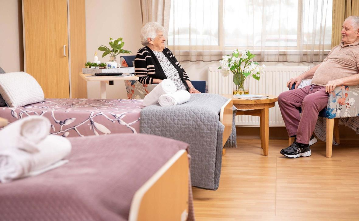 Companion Room with residents