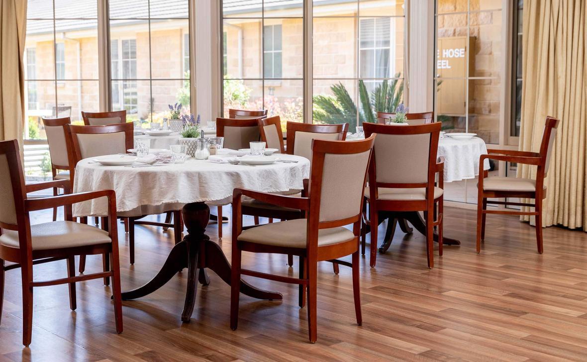 Paynesville Gardens Dining Room