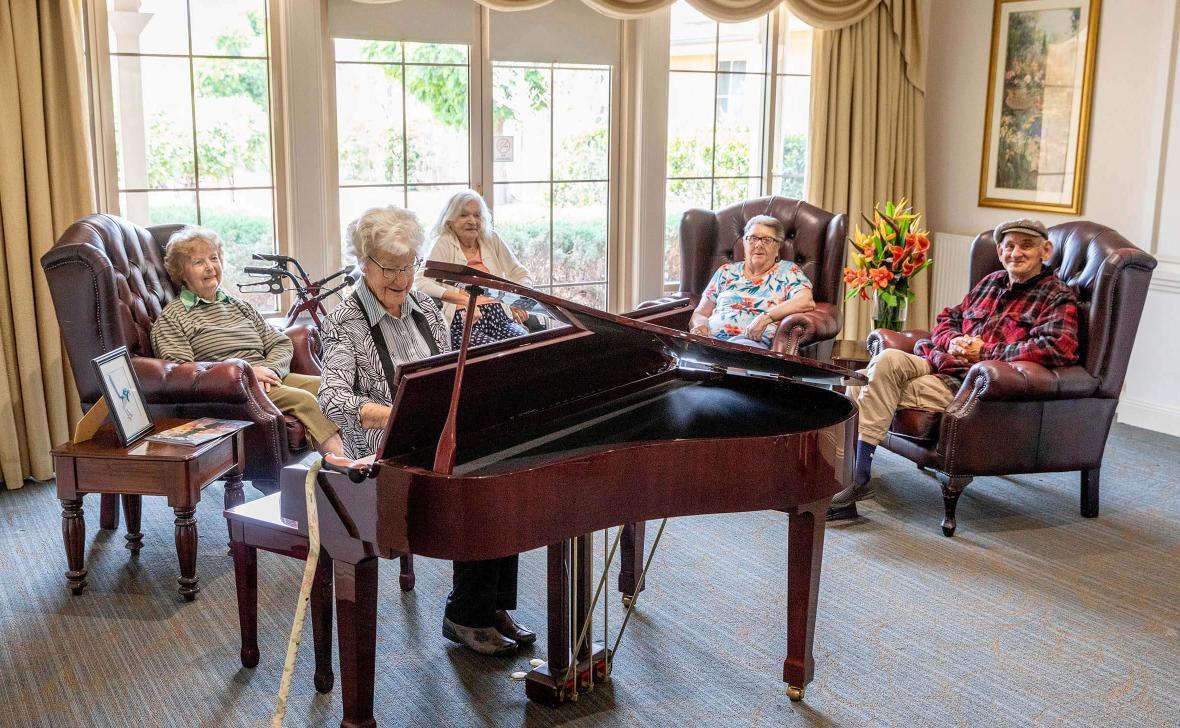 Paynesville Gardens Grand Piano