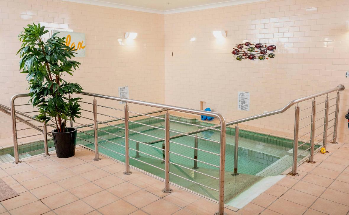 Paynesville Gardens Hydrotherapy pool