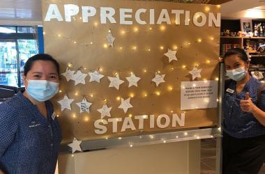 Appreciation Station at Kawana Waters